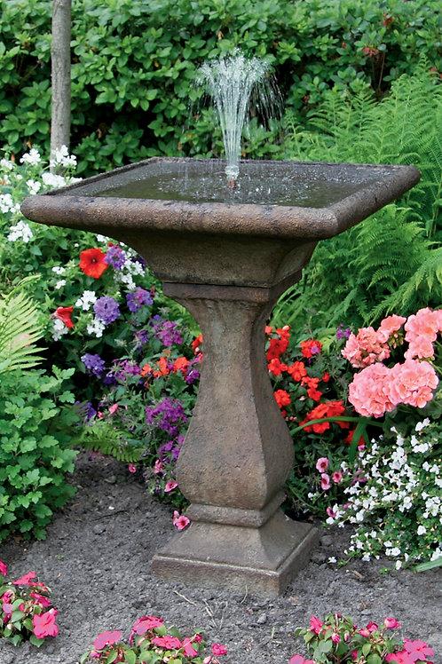 """30"""" Chelsea Fleur De Lis Square Fountain"""
