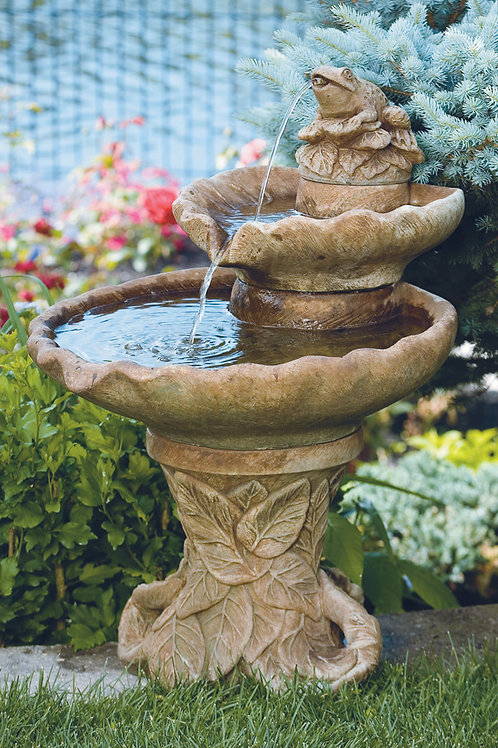 Two Tier Leaf Fountain