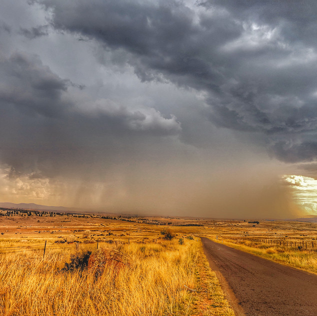 Summer Storm over Dalgety