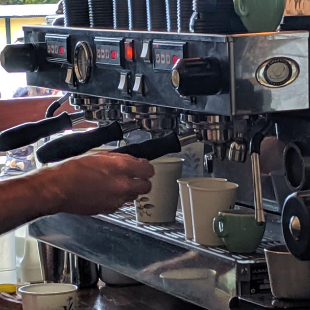 Coffee Lineup
