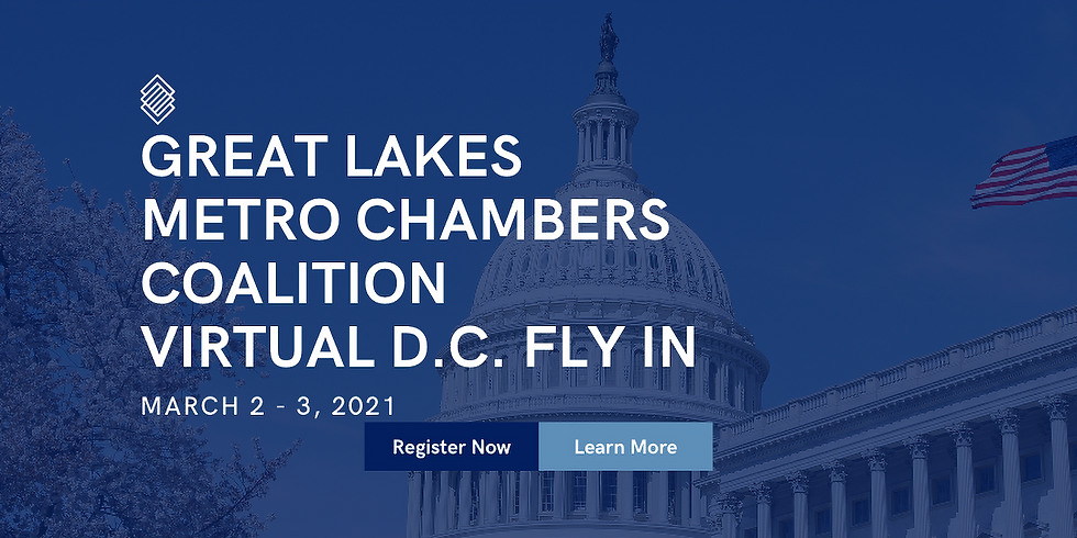 Great Lakes Metro Chambers Coalition Virtual D.C. Fly In