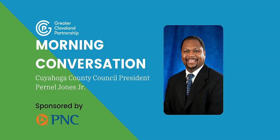 GCP Morning Conversation with County Council President Pernel Jones Jr.