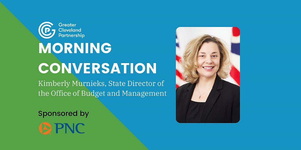GCP Morning Conversation with Kimberly Murnieks, State Director of the Office of Budget and Management