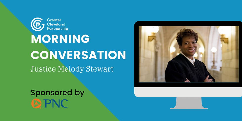 GCP Morning Conversation with Justice Melody Stewart