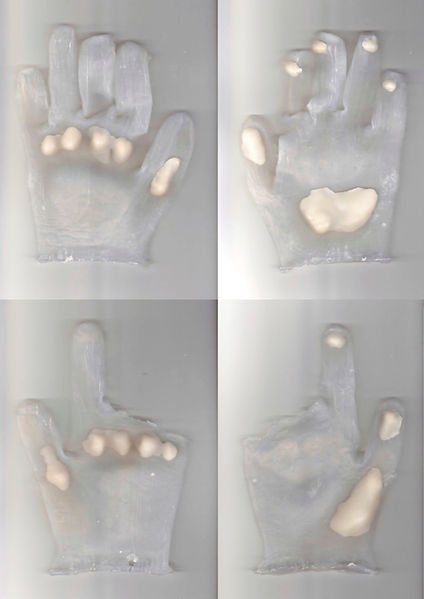 Impact Prototection Gloves Prototype 201