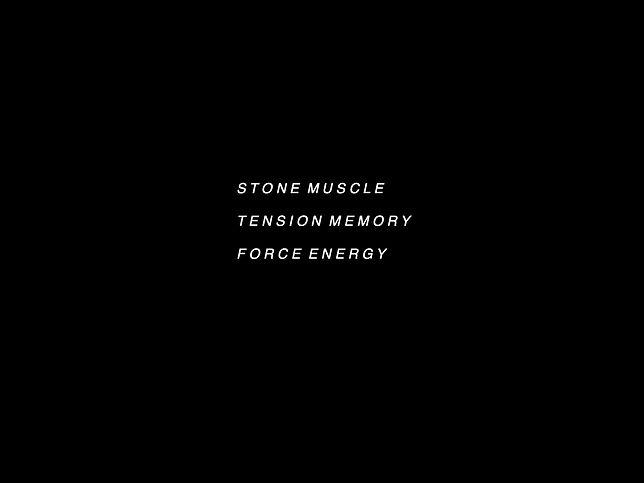 Stonemuscletensionmememoryforceenergy Ex