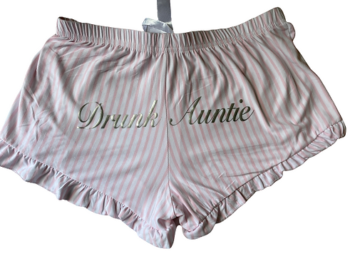 Drunk Auntie Pajama Shorts