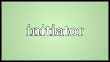 Let's Be Initiators
