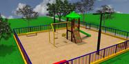 Playground Uma Torre 3D