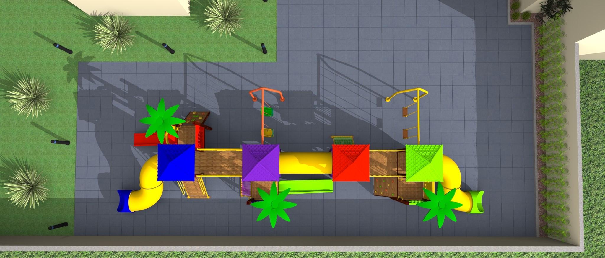 Playground Quatro Torres