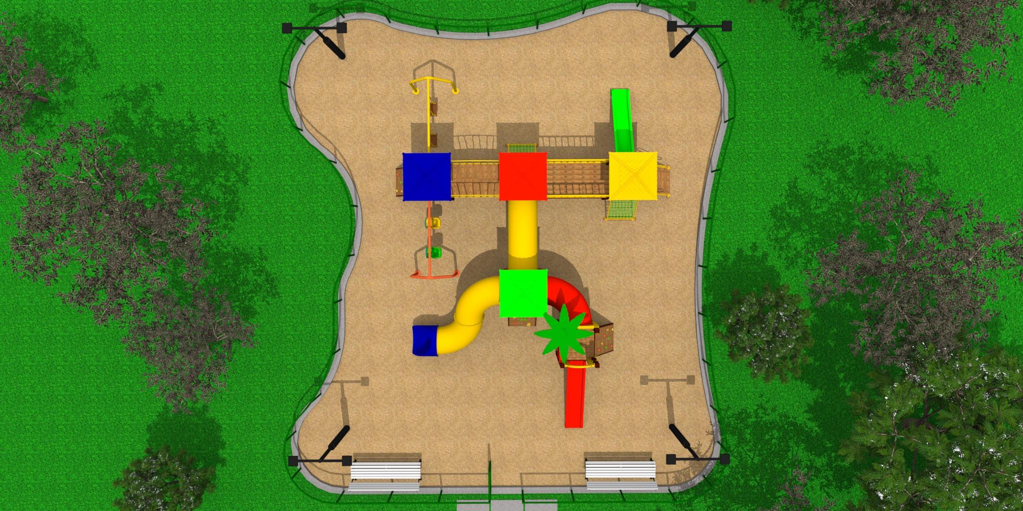 Playground Cinco Torres