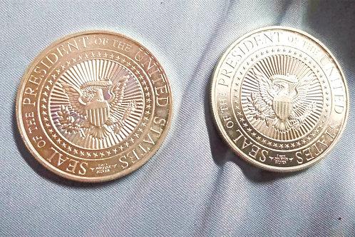 Presidential Silver Coin
