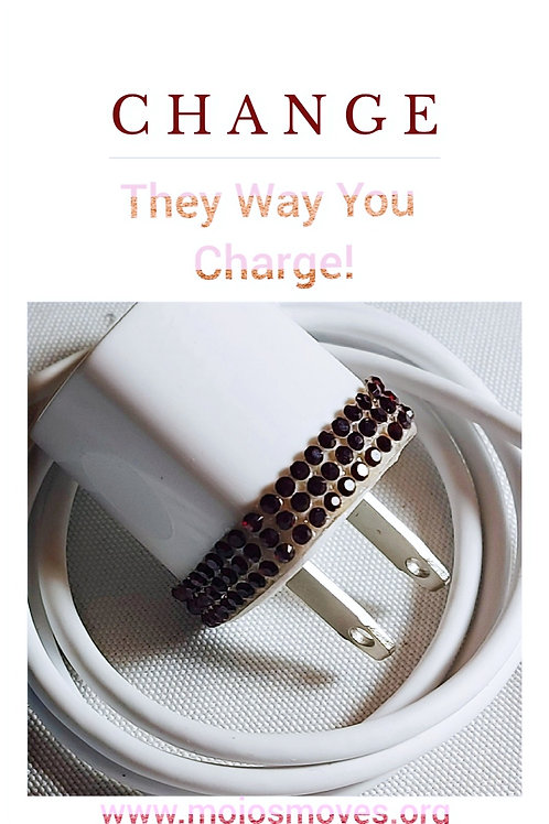 Iphone Ruby Charger Box  & Cable