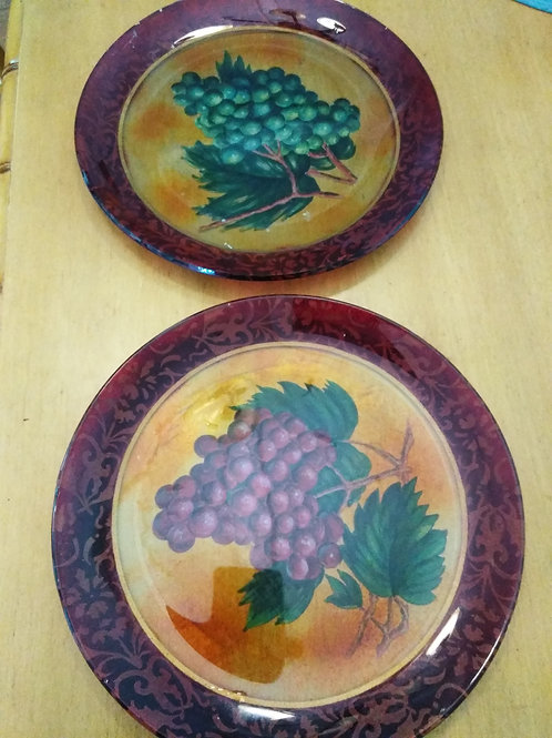 Hand Painted Decorative Plates