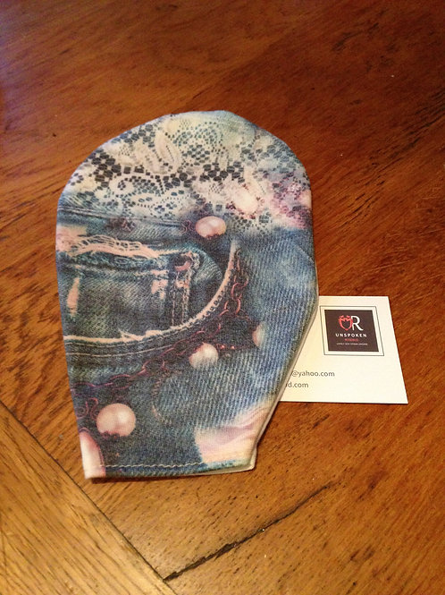Soft Faded  Jean Pouch Cover