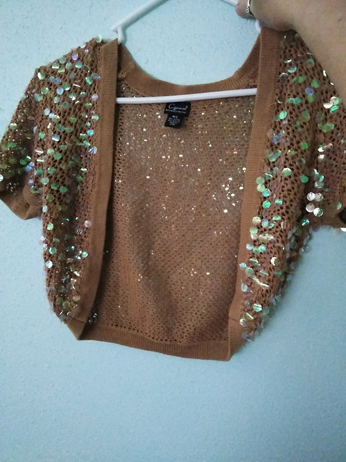 Girls Glittery Wrap