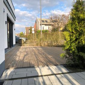 Römerstraße, Gartenvorbereitung