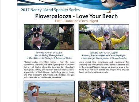 Ploverpalooza Speaker Series 2017