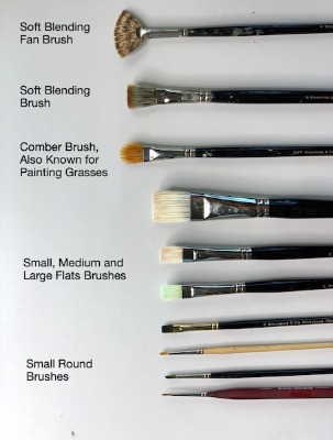 Oil Painting Materials Without the Chemicals