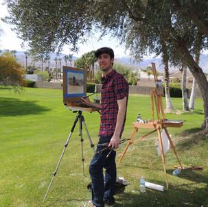 Painting with Daniel Keys