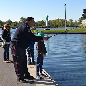 Kids Cops n Fishing