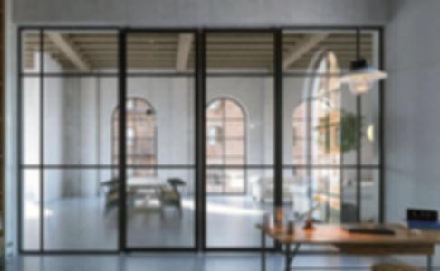 Glass Aluminium Doors