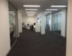 Office Refurbishment, Glass Partitioning