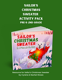 Sailor's Christmas Sweater Activity Pack