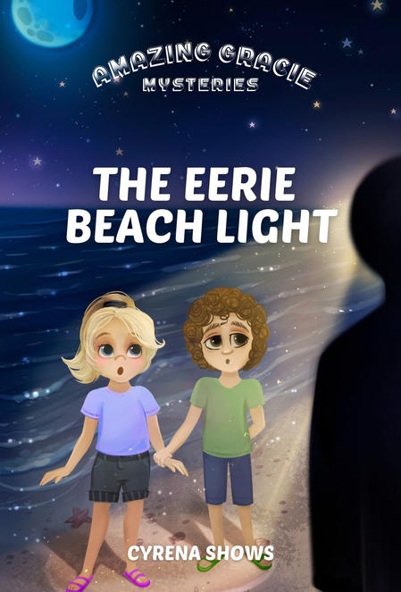 Eerie Beach Light