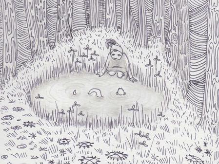 Pond Sketch