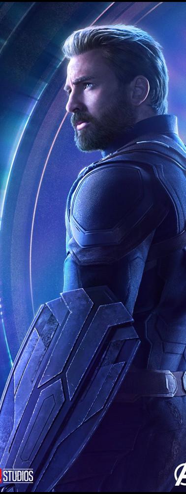 Avenger_InfinityWar_CaptainAmerica_Poste
