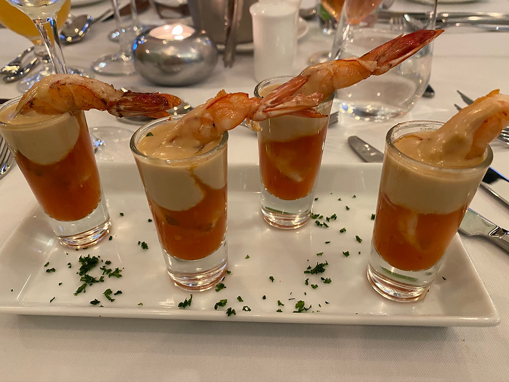 Old Ducky prawn shooters
