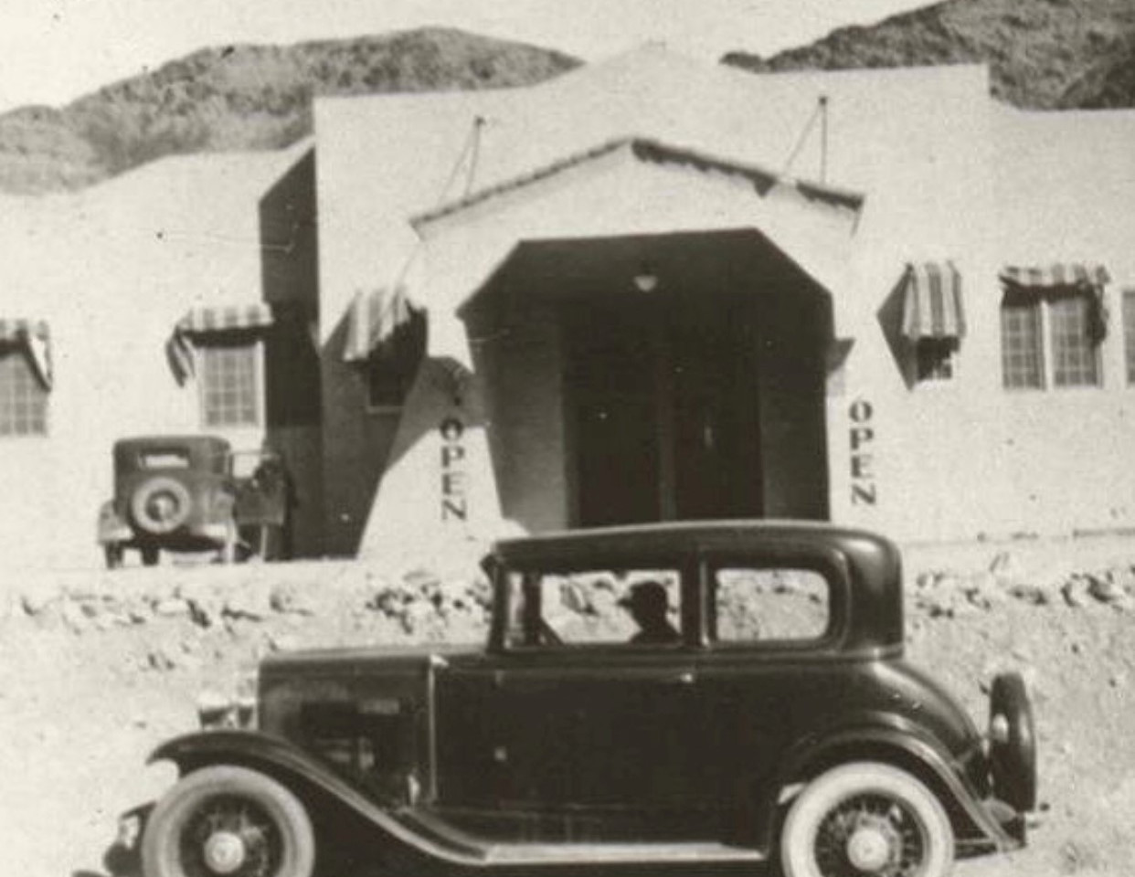 This is the same entrance in our casino today as it was in 1931.