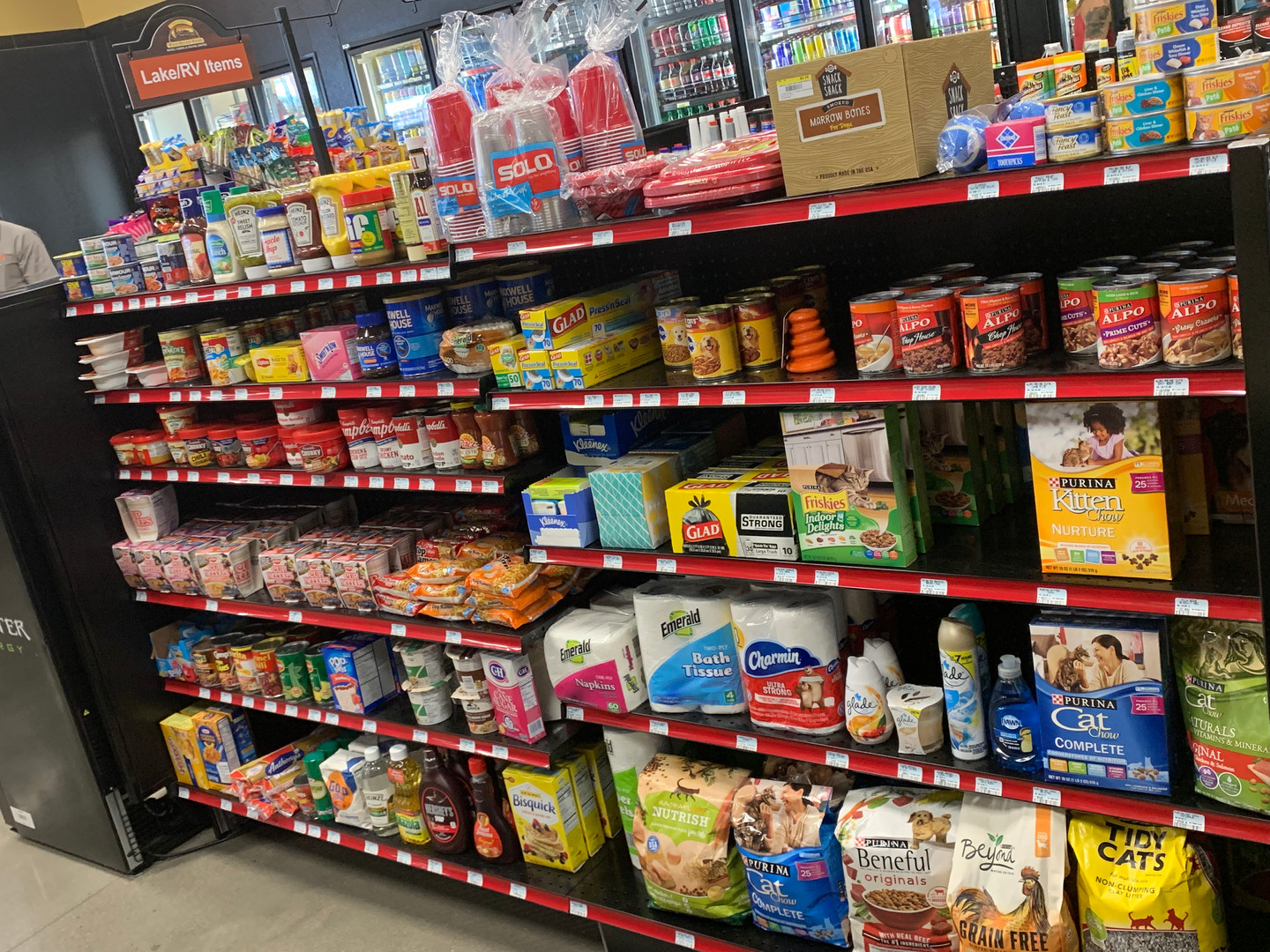 Canned goods & Pet Supplies