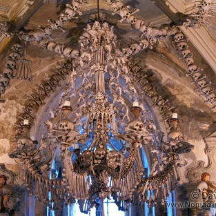 Human Bone Church in Czech Republic