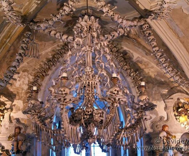 Human Bone Church in Czech Republic