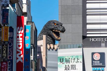 Godzilla Hotel!!