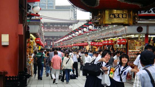 Nakamise-Dori Shopping