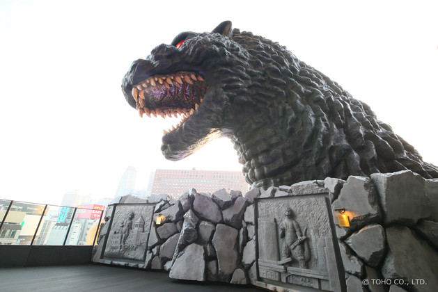 Godzilla Hotel from Rooftop Bar