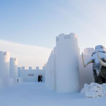 Snow Castle Exterior