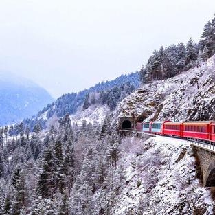 Ride the Glacier Express, Switzerland
