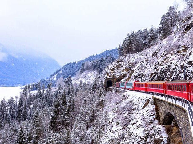 Ride the Glacier Express, Switzerland