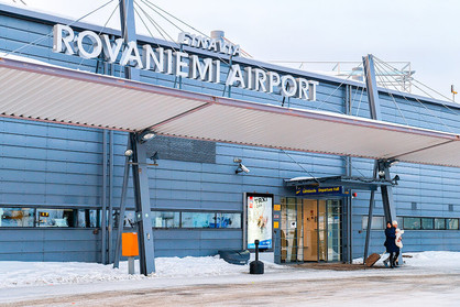 Rovaniemi Airport Enterance