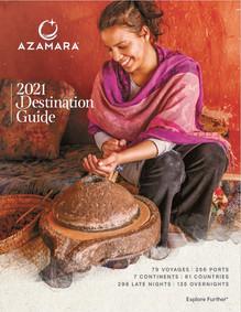 Azamara 2021 Destination Guide