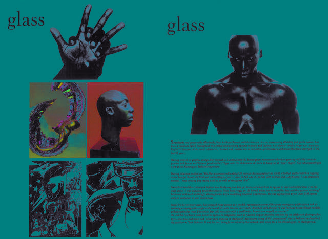 GLASS MAGAZINE FEATURE