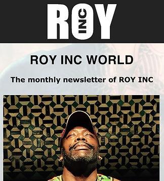 ROY INC newsletter