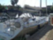 imbarcazione a velacyclades 50.5  cabine fino a sei, disponibile a nolegio con e seza skipper alle Isole Eolie
