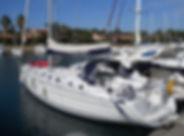 Cyclades 50.5 barca a vela 5 cabine per affitto locazione e noleggio alle isole Eolie