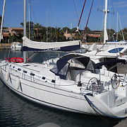 big sailing boat 5 cabins Aeolian Islands Sun Sicily yacht charter