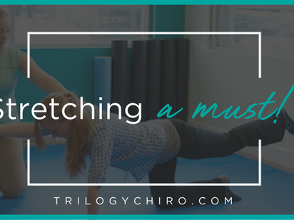 STRETCHING- A MUST!
